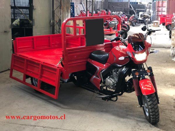 Moto de carga bencinera